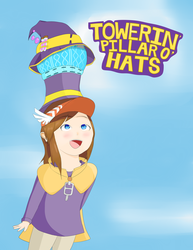 Towering Pillar of Hats (Hat Kid Edition) by david47295