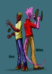 Mike and Kev by chakanforeverman