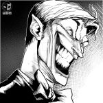 joker - smile - by hulkred