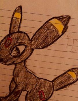 Umbreon  by DrawCatish