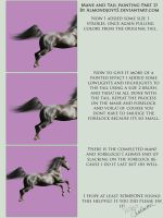 Mane and Tail Tutorial Part 2 by almondjoyy5
