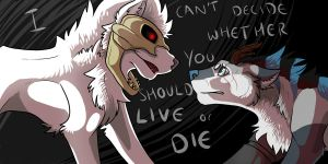 I Can't Decide + Speedpaint by Studios-Of-White