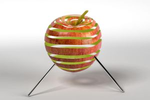 3D Apfel by hoschie