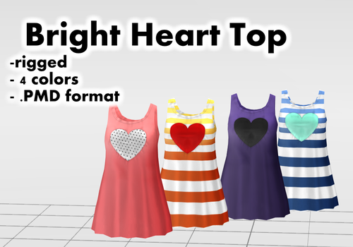 Bright Heart Top DOWNLOAD by Reseliee