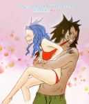 gajeel and levy : make you to undress - colored by macriz05