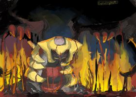 Giratina... by explodingHeath