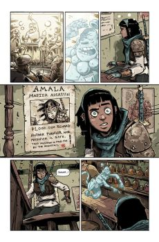 AMALAS BLADE #1 preview page4 by TheWoodenKing