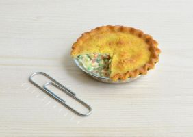 miniature chicken pot pie I by FatalPotato