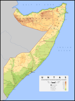 United Nations Transitional Authority in Somalia by ZekSora
