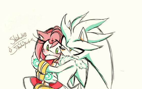 Silvamy - Doodle on my cellphone by 1412Shadow