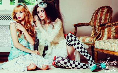 Fashion in Wonderland II by Santa-Evita