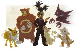Jasiri and pokemon team