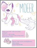 Moeer species by SweetuMilk