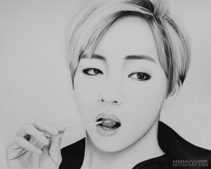Taehyung by mmmvvvrr