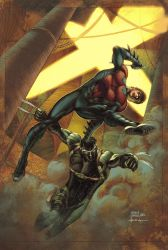Nightwing Cover 02 by Maiolo