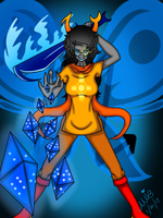 Vriska Serket the Thief of Light by ShinjitsuForever