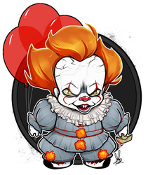Pennywise Chibi by tandemonium
