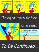 The Beach Trip Page 1 by epic-agent-63