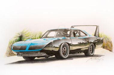 Plymouth Superbird 1970 by Mipo-Design
