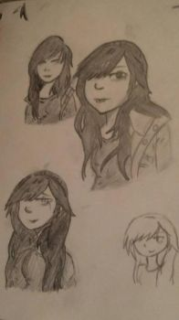 Just doodles by AkinatheMachina