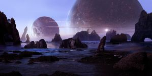 Sci Fi Beach by Scott Richard by rich35211