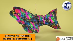 Model a Buttertie (Cinema 4D Tutorial) by NIKOMEDIA