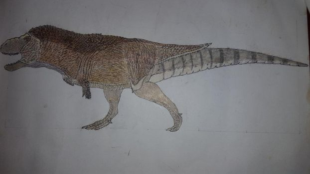 Sue, the Tyrannosaurus by Braindroppings1