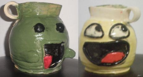 LaAwesome Face Jug by Dsitt7