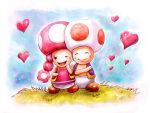 Toad and Taodette by AlineMendes