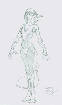 Nocturne Redesign by comicninja