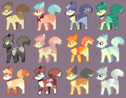 Adoptables 76 by hinanamis