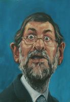 rajoy caricatura by elthe