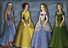 Disney Tudor Princesses 4 by jesusismybestie