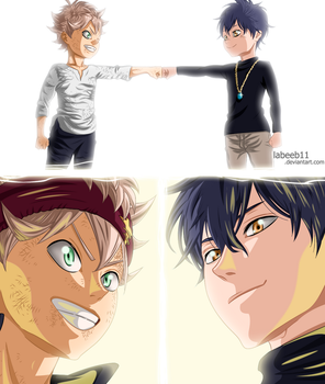 Black Clover 01 - Coloring by Labeeb11