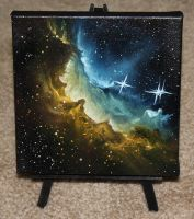 Wizard Nebula by crazycolleeny