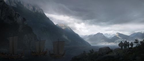 Matte Painting - Impending by aJVL