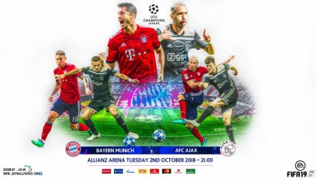 BAYERN MUNCHEN - AFC AJAX CHAMPIONS LEAGUE by jafarjeef