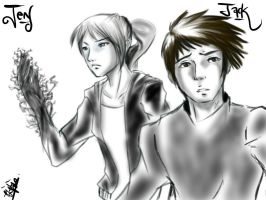 Request: Jack and Jen by chromic7sky