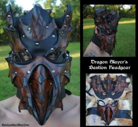 Dragon Slayer's Headgear by Epic-Leather