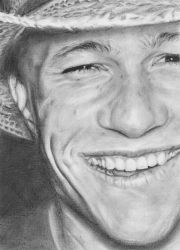 Heath Ledger by Krissi001