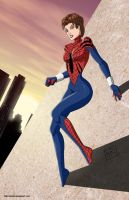 Spider-girl commission by mhunt