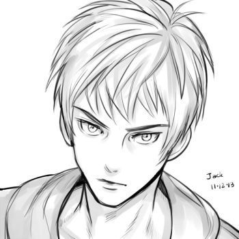 Rise of the guardians - Jack Frost by setsuna1111