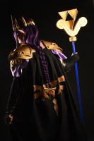 Hilda Hyrule Warriors style cosplay - back by Nafuri-chan