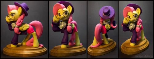 HipsterShy by dustysculptures