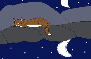 Leafpool at the Moonpool by pikagirl25