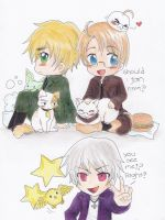 APH- England, America, Prussia by DiedOfEyes