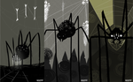 spiders forest by CherrySerpent