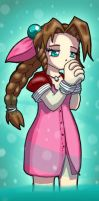 Aerith by mogstomp