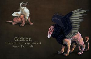 Gideon - Reference by Cyaneus
