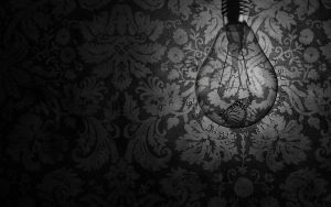 A Butterfly in a Light Bulb by dye-the-eye